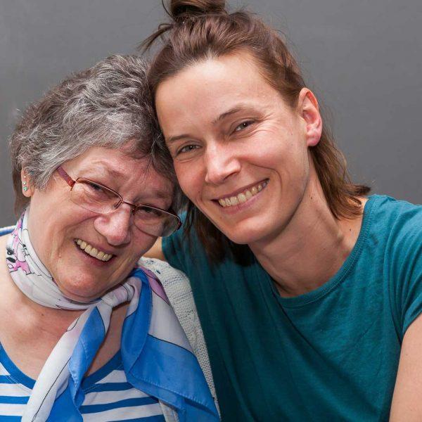 Vertrauensvoller Umgang miteinander ist Voraussetzung für die Arbeit der Betreuer