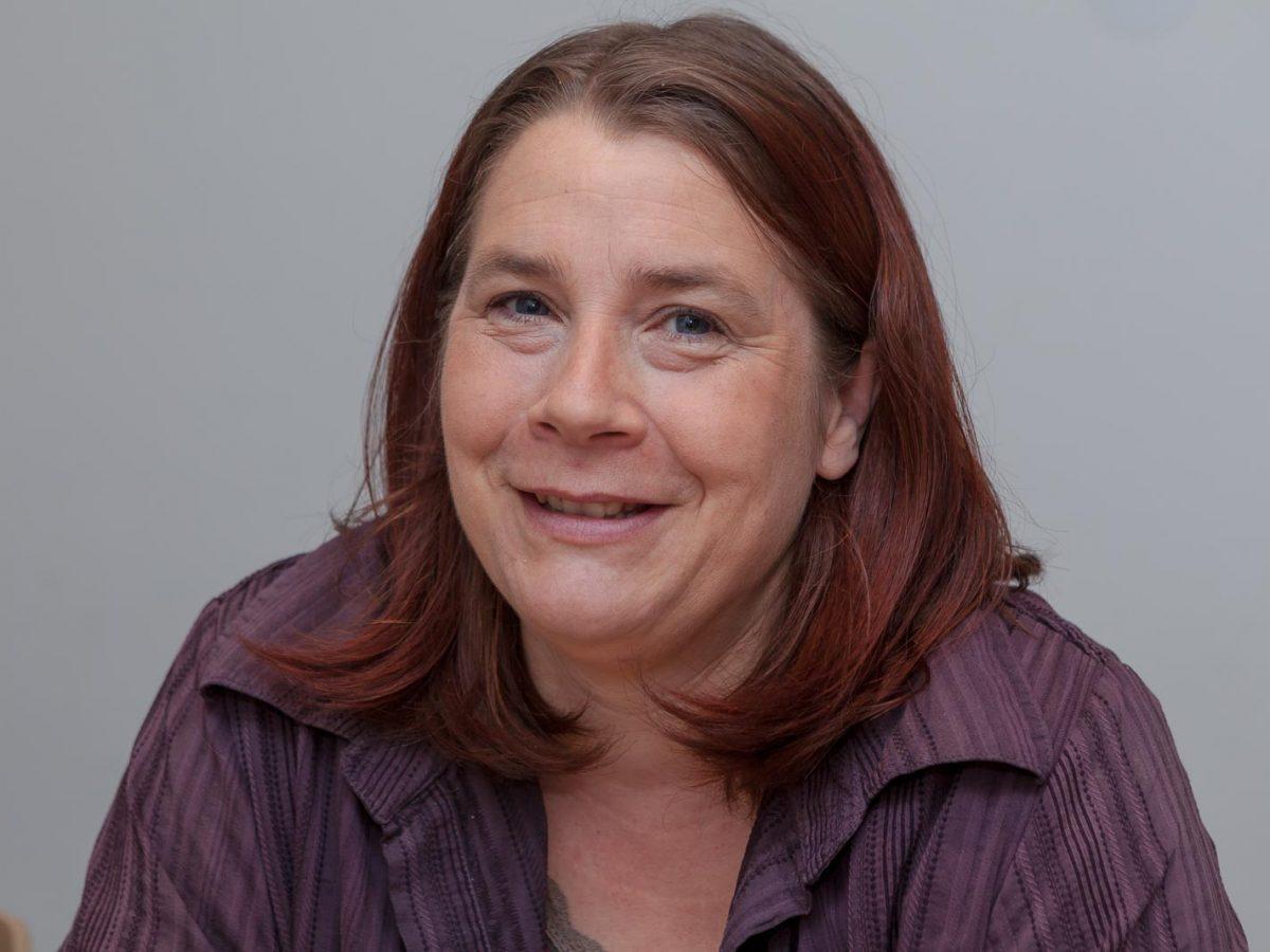 Kerstin Sahlmann ist die Leiterin der Ambulanten Dienste Süd
