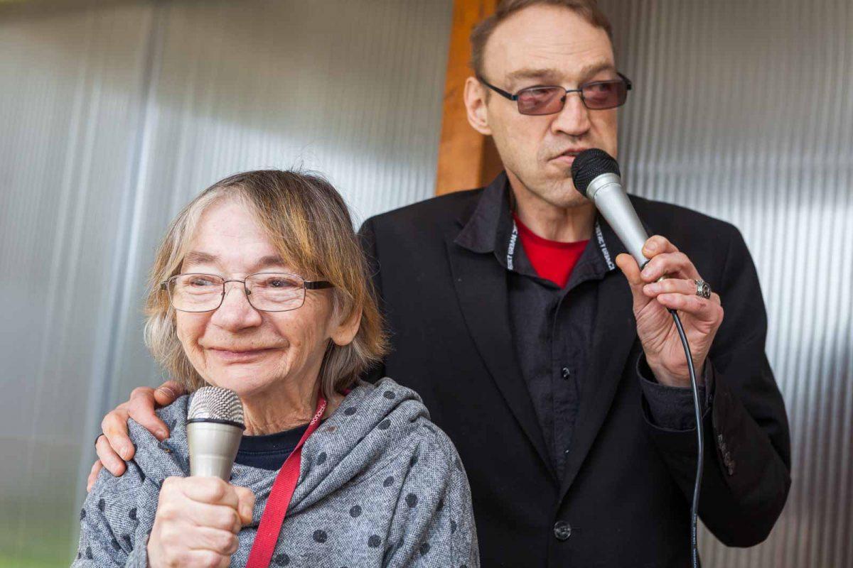 Frank und Hannelore H. sind schon seit 33 Jahren ein Paar