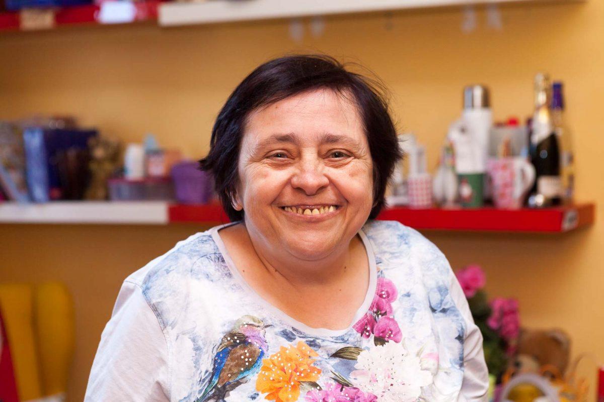 Manuela O. wohnt schon seit vielen Jahren im Erdlandschen Hof