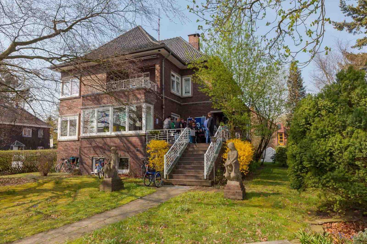 Das Haus Bahrenhorst in Alsterdorf ist eine frühere Familienvilla aus den 1920er Jahren