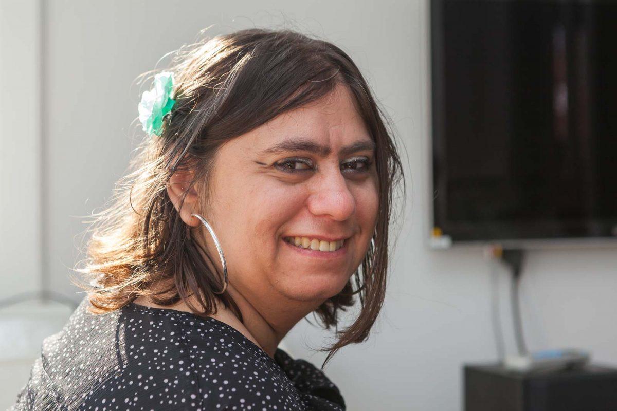 Bewohnerin Anita H. kam aus München ins Haus Bahrenhorst